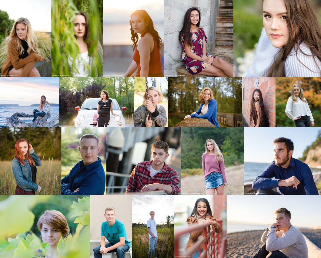 Class of 2018 - Senior Photos by Michael Curtis Photography