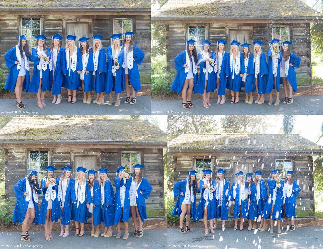 bothell high school senior pictures photos shoot cap gown