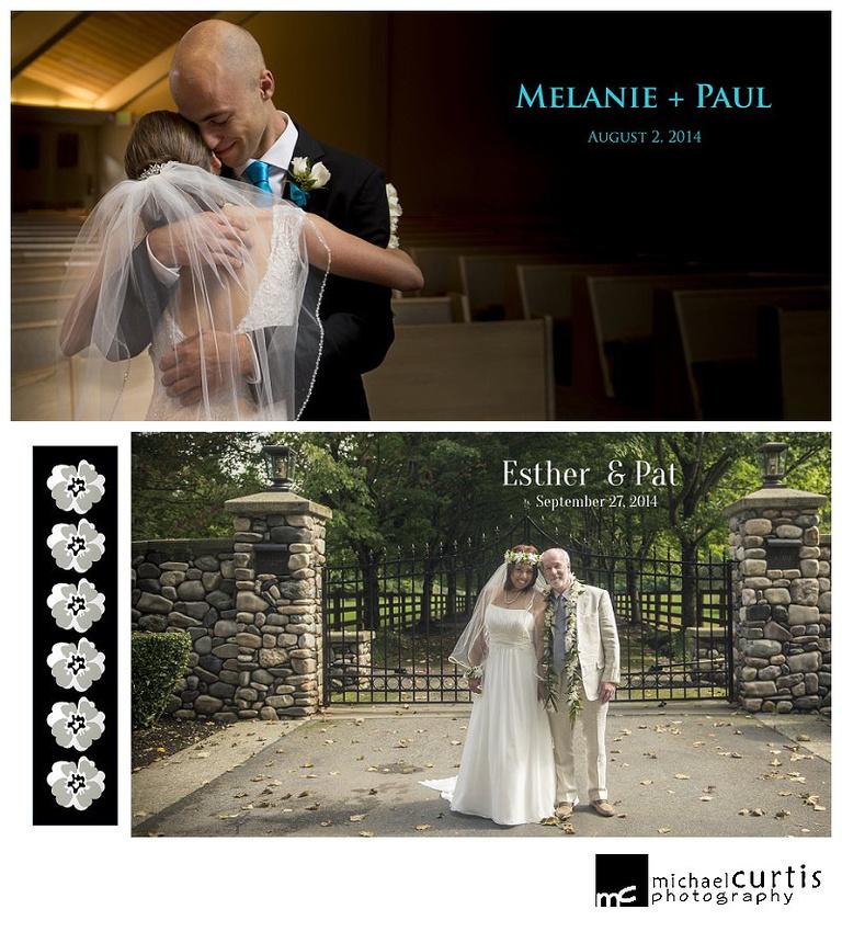 Michael Curtis Photography Wedding Albums